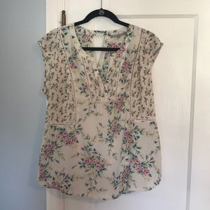 Daniel Rainn Sleeveless Top EUC